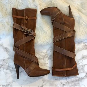 Chloe Paddington Strappy Boots
